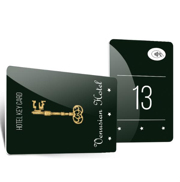 Hotelkarten und Kartenhüllen