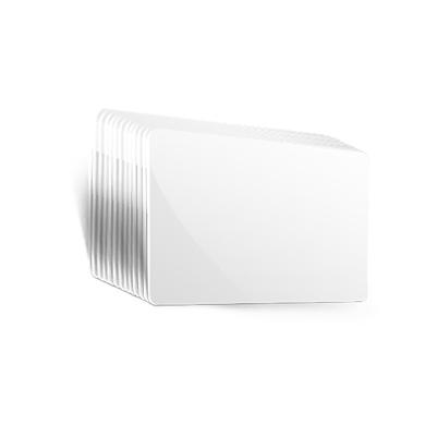 Weiße Blankokarten