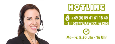 call center plastikkarten