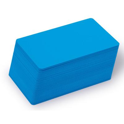 Blankokarten hellblau