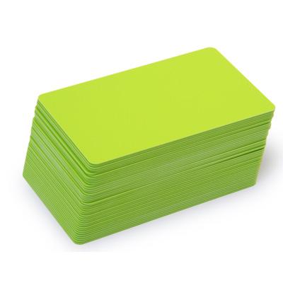 Blankokarten grün