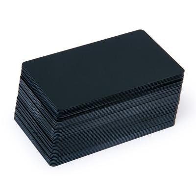 Blankokarten schwarz