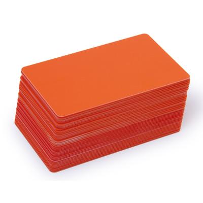 Blankokarten orange