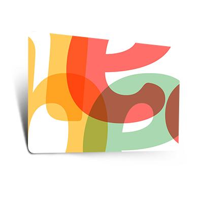 Dünne Plastikkarten (0,50 mm)