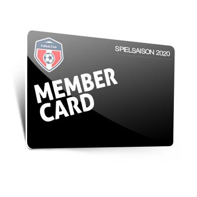 Standard Mitgliedskarten (0,76 mm)
