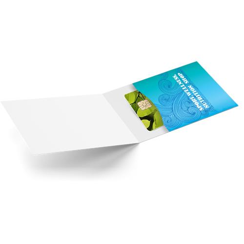 Kartenhülle aus Papier