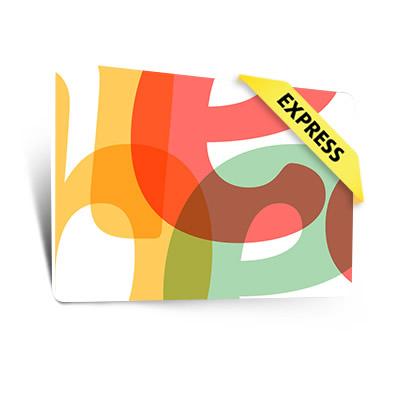 Standardkarten Express (0,76 mm)
