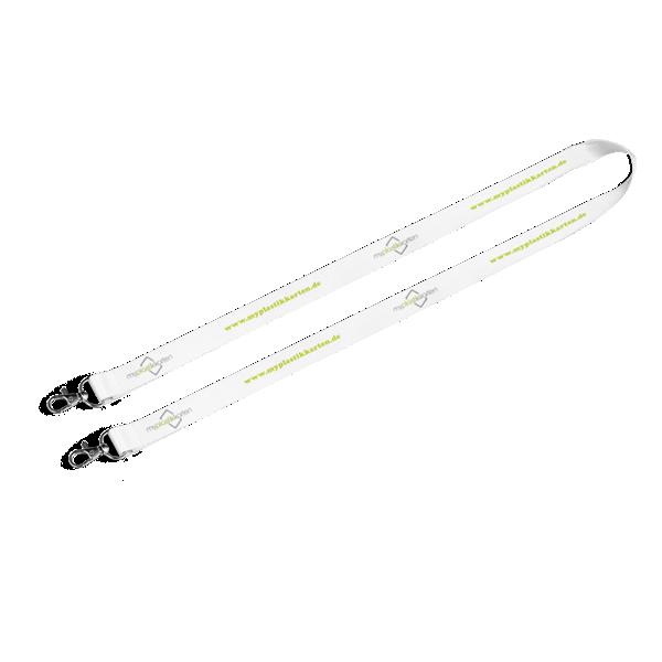 Lanyard (Schlüsselband) mit Doppel-Metallkarabiner