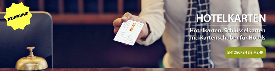 Hotelkarten und Schlüsselkarten